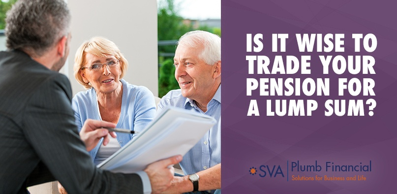 Is It Wise to Trade Your Pension for a Lump Sum?