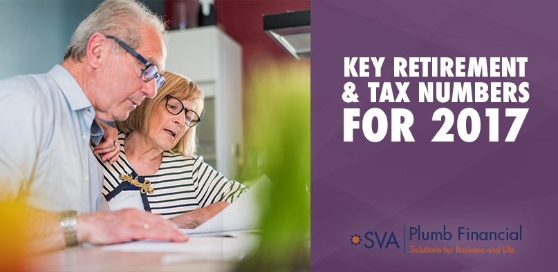 Key Retirement and Tax Numbers for 2017
