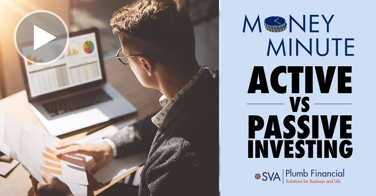 Money minute: Active vs Passive Investing