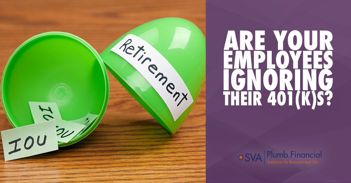 Are Your Employees Ignoring Their 401(k)s?