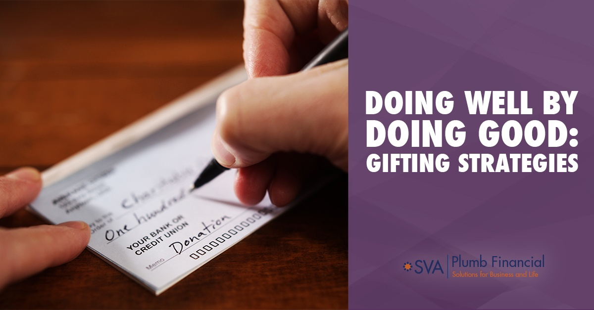 Doing Well by Doing Good: Gifting Strategies