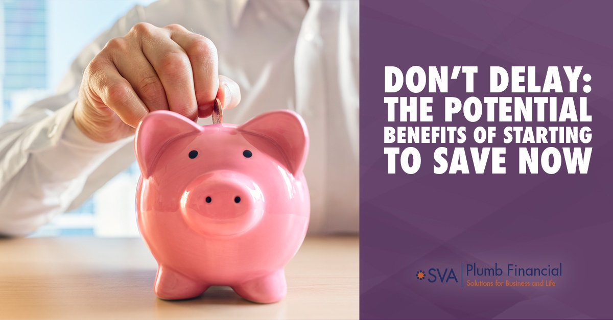 Don't Delay: The Potential Benefits of Starting to Save Now