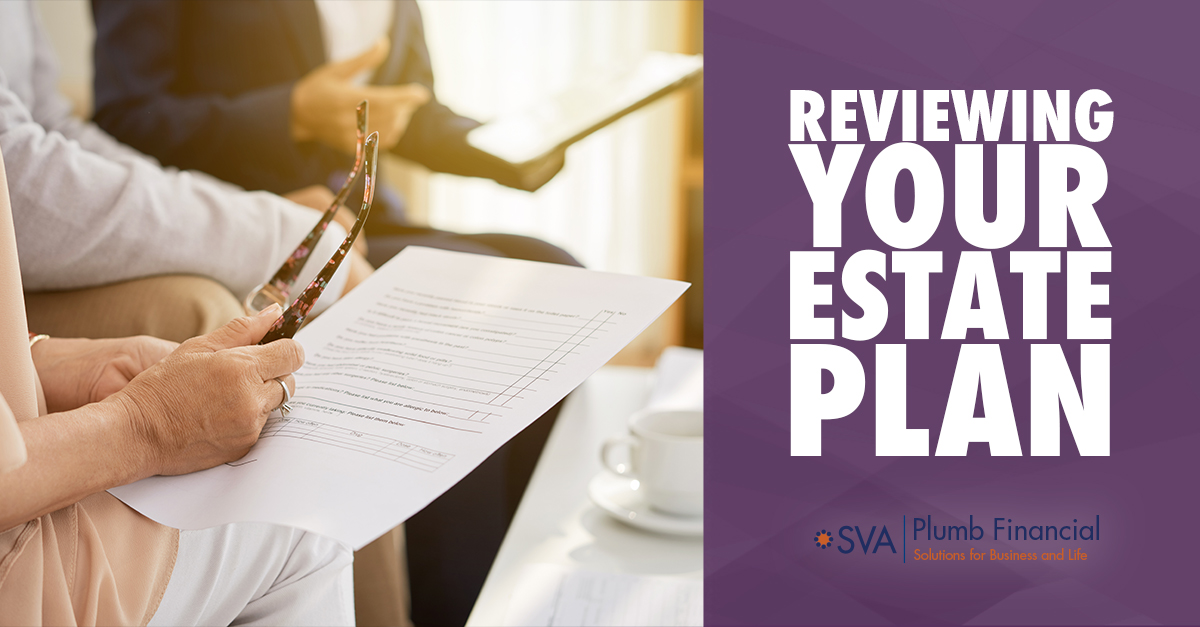 Reviewing Your Estate Plan
