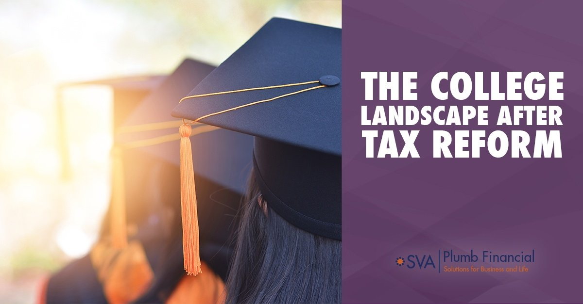 The College Landscape After Tax Reform